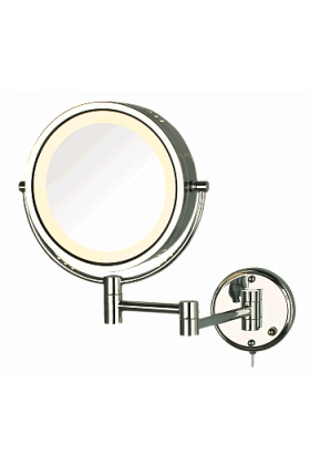 Jerdon 8x/1x Reversible Plug-In Make Up Mirror - 3 Finishes