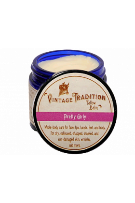 Pretty Girl Tallow Balm by Vintage Tradition - 2 oz. or 9 oz.