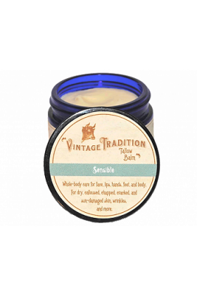 Sensible Tallow Balm by Vintage Tradition - 2 oz. or 9 oz.