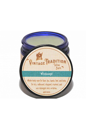 Windswept Tallow Balm by Vintage Tradition - 2 oz or 9 oz.