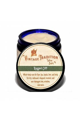 Rugged Cliff Tallow Balm by Vintage Tradition - 2 oz. or 9 oz.