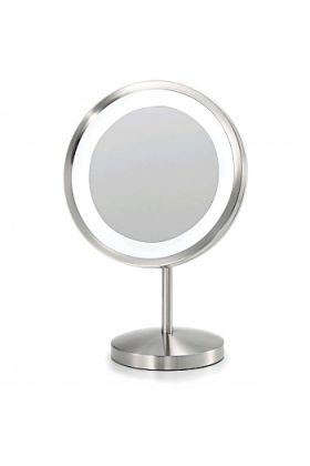 Electric Mirror LED 3,000k Illuminated Halo-Lighted 5x Make Up Mirror (EM10)