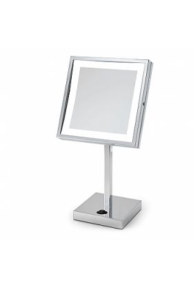 "Electric Mirror ""Elixir"" Square-Face LED 5x Vanity Mirror"