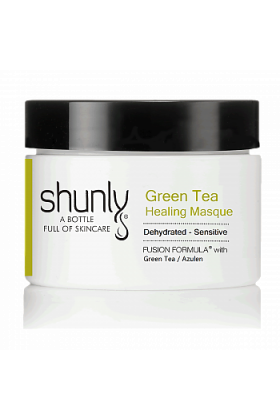 Shunly Green Tea Healing Masque Calms, Soothes, Hydrates and Balances the Skin