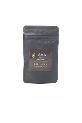 JAVA Skin Care Coffee Bean and Raw Sugar Body Scrub - with Organic Roasted Coffee and Argan Oil