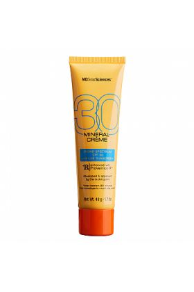 MDSolarSciences Mineral Creme SPF 30, Broad Spectrum Facial Sunscreen for Skin Prone to Breaking Out