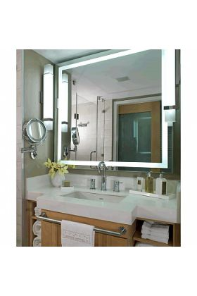 Electric Mirror Integrity +AVA Adjustable Color LED Mirror with Backlit Brilliant Border, 10 Sizes