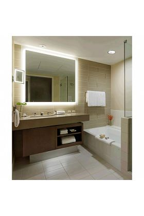 """Electric Mirror Silhouette +Keen Auto Dimming Back-Lighted LED Mirror Floats """"Free"""" - 8 Sizes"""