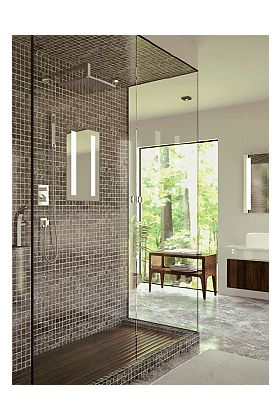 Electric Mirror Acclaim LED Back-Lighed Fog Free Shower Mirror will Transform Your Shower Experience