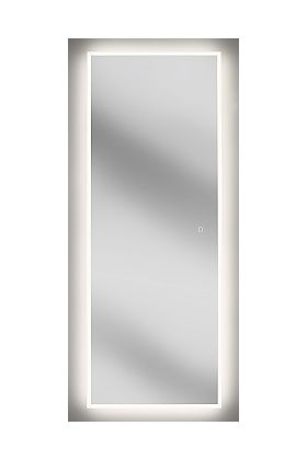Sergena LED Full-Length Wardrobe Mirror - Touch On/Off and Adjustable Lighting