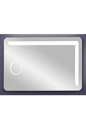 Sergena La Bonita Mirror with Touch-Control Tuneable LED Lighting and Inset 3x Magnifying Mirro