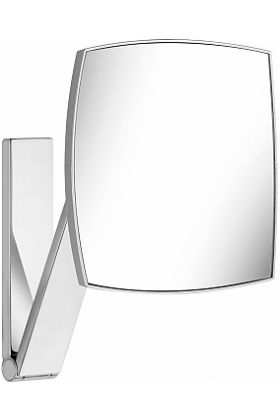 KEUCO 5x Non-Lighted Wall Mounted Square iLook_move Vanity Mirror in 4 Finishes