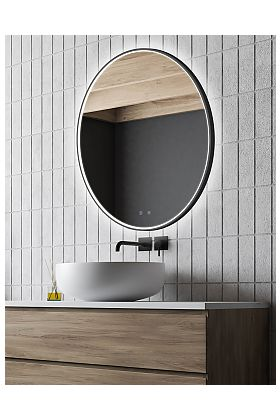 Electric Mirror Brilliance LED Backlit Mirror - 3 Sizes