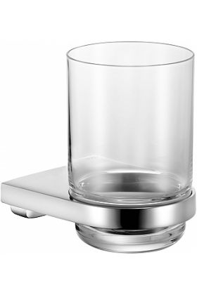 Keuco Collection Moll Tumbler Holder with Crystal Tumbler