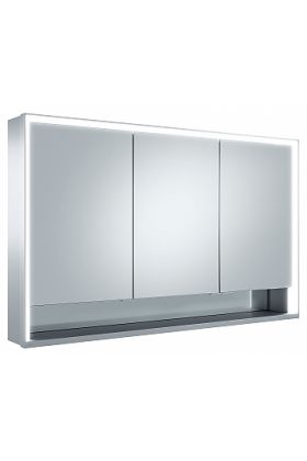 Keuco Royal Lumos 3-Door Mirrored Bathroom Cabinet - Intelligent Lighting and Intuitive Operation
