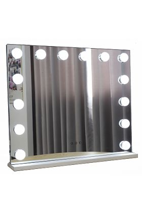 JYD Hollywood Style Makeup Mirror - use Wall Mounted or Free-Standing