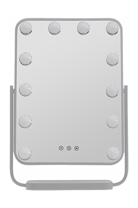 JYD Hollywood Style LED Makeup Mirror is Fits on Your Vanity, Big Enough for Demanding Applications
