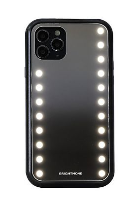Brightmond iPhone 11 Pro Max Case - Mirrored, LED-Lighted, and Protective