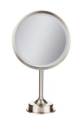 Miroir Brot Imtemporel Custom Made LED Free-Standing Make Up Mirror in 5x or 7x and 30 Finishes