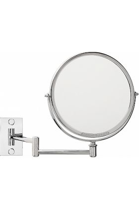 Miroir Brot Patrimoine Custom Reversible Wall-Mounted Makeup Mirror - 3x or 5x and 30 Finishes