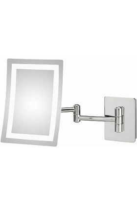 Kimball & Young 3,500k-5,500k LED Hardwired Makeup Mirror -3 Finishes