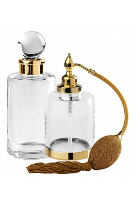 """Cristal&Bronze Cristallin """"lisse"""" Perfume Bottle in 27 Finishes and Room Spray in 7 Finishes"""