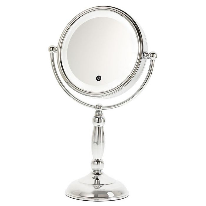 Danielle Creations Touch Control LED 10x/1x Reversible Vanity Mirror with Dimmer