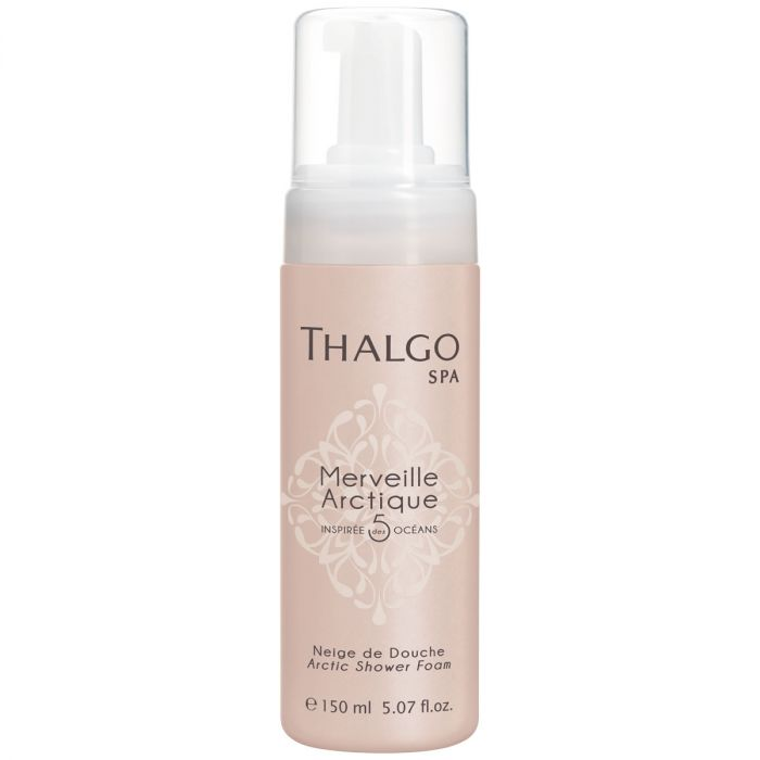 THALGO Merveille Arctique Arctic Shower Foam Cleans and Softens the Skin