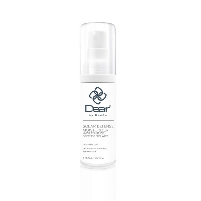 Dear by Renee Solar Defense Moisturizer - Chemical-Free Sunscreen with Zinc Oxide