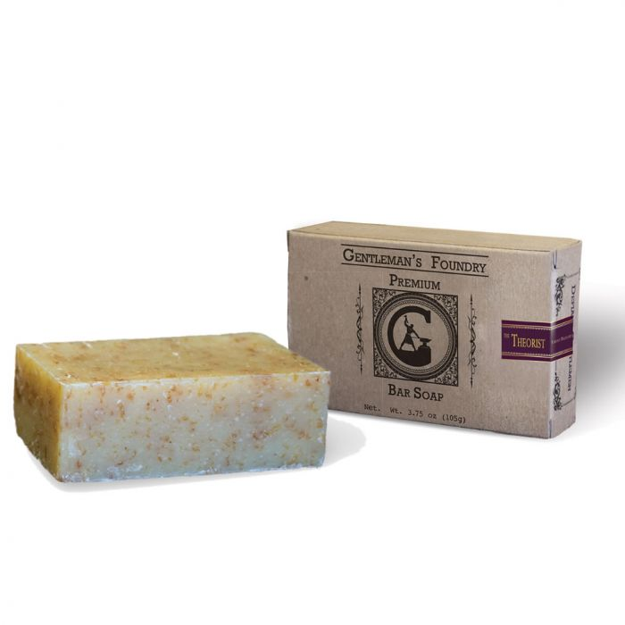 Gentleman's Foundry Theorist Sage Wood Soap for Men Brings the Woods Into the Shower