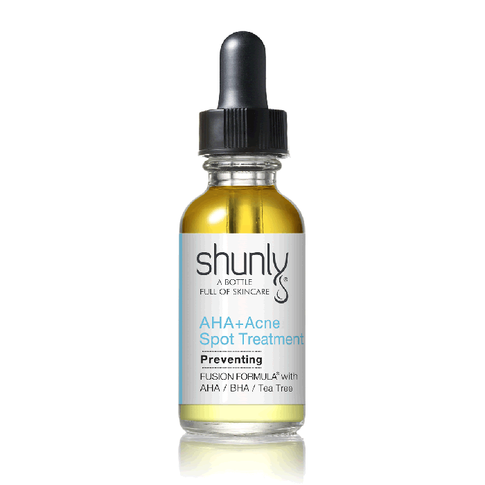 AHA+ Acne Spot Treatment Helps Dry Up Blemishes and Prevent Future Breakouts