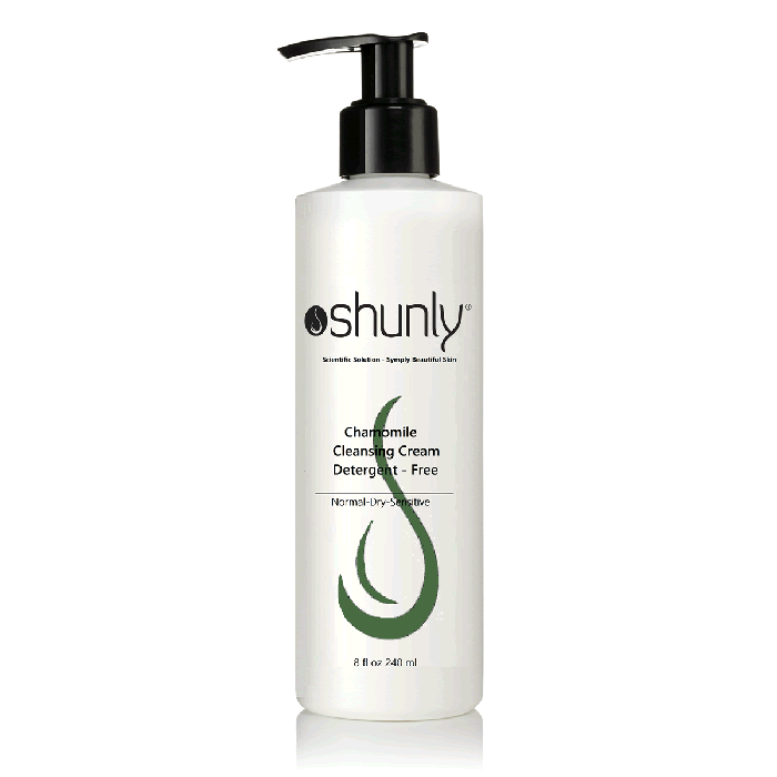 Shunly ChM+ Gentle Milk Cleanser Chamomile Cleansing Skin Purifying Cream 8 fl. oz.