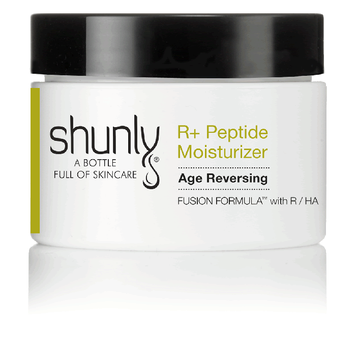 Shunly R+ Peptide Moisturizer Antioxidant Cream with Resveratrol in High Concentration