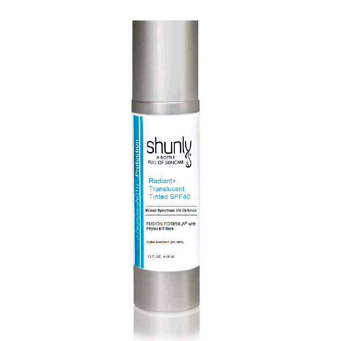 Radiant Translucent Tinted SPF-40 Offers High Protection from UVA and UVB