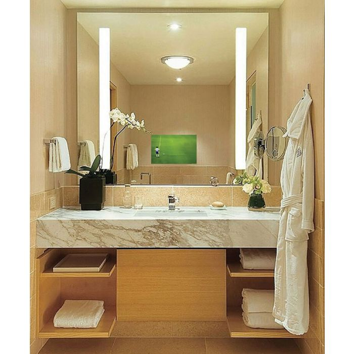 Electric Mirror Fusion TV Lighted Mirror with 21.5