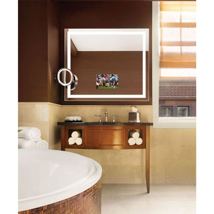 Electric Mirror Integrity TV Lighted Mirror with 15.6
