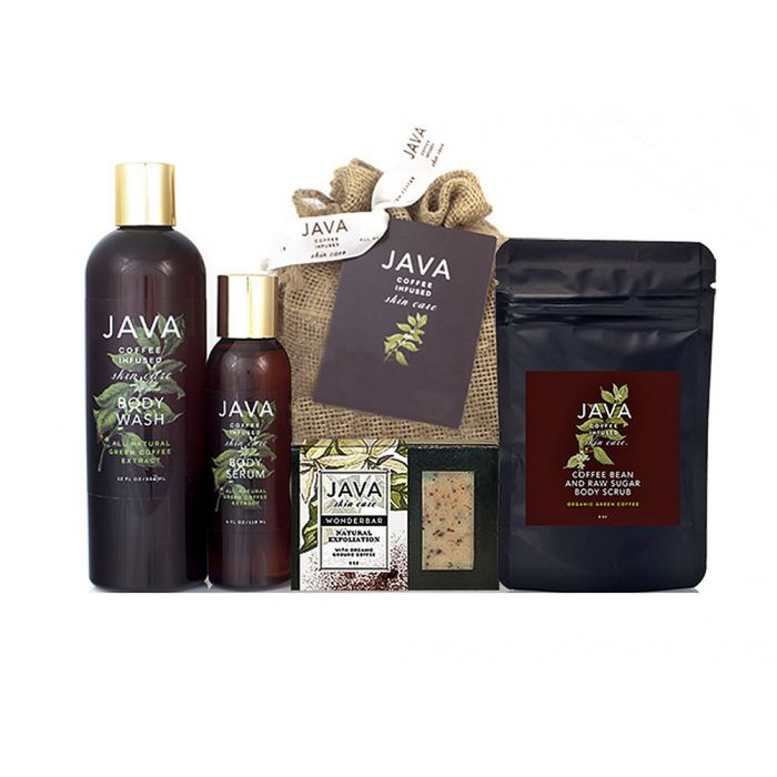 Java Skin Care Full Body Routine with 4 Java Skin Care Products