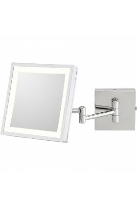 Kimball & Young 3,500k Rechargeable LED 3x Makeup Mirror, 913-35 Series, 2 Finishes