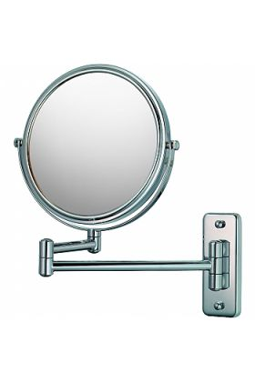 Mirror Image Magnifying Makeup Mirror 5x/1x Reversible, 2 Finishes