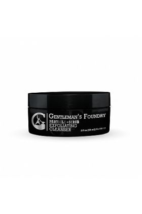 Gentleman's Foundry Particle + Exfoliating Face Scrub - Deeply Cleans and Clears Clogged Pores